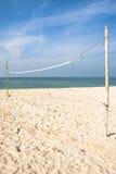 Le réseau de plage Photos stock