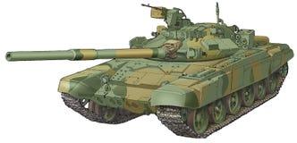 Le réservoir d'armée T-90 Photo libre de droits