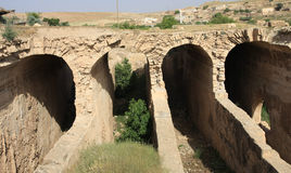 Le réservoir de l'eau dans Mardin. images libres de droits