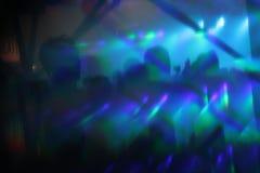 Le résumé allume le fond de soirée dansante de boîte de nuit Images libres de droits