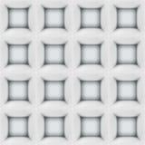 Le résumé blanc cube le modèle 3D sans couture Photo libre de droits