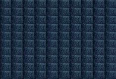 Le résumé bleu a donné au fond une consistance rugueuse géométrique rectangulaire La conception peut être employée pour des artic illustration stock