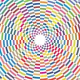 Le résumé colore les places géométriques à carreaux que Sun a éclaté la texture de fond illustration stock