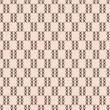 Le résumé croise le modèle sans couture de vecteur de texture rustique de grille Tiré par la main illustration libre de droits