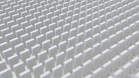 Le résumé cube le fond 3d rendent Image libre de droits