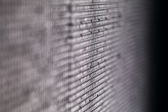 Le résumé a mené l'écran, fond de texture Plan rapproché d'écran de diode photographie stock libre de droits