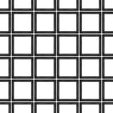 Le résumé modèle noir et blanc Photos stock
