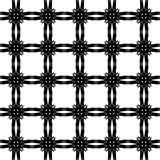 Le résumé modèle noir et blanc Image libre de droits