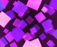 Le résumé violet foncé ajuste le fond Photos libres de droits
