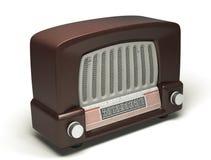 Le rétro haut-parleur Image libre de droits