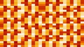 Le rétro pixel colore le fond des rectangles changeant des couleurs dans une boucle illustration de vecteur