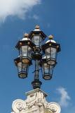 Le réverbère démodé, Londres, Angleterre Image stock