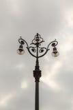 Le réverbère démodé, Savone, Italie Image libre de droits