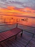 Le rêve de la mer hongroise images stock