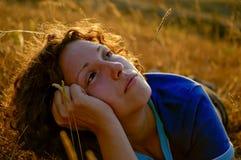 Le rêveur Photos libres de droits