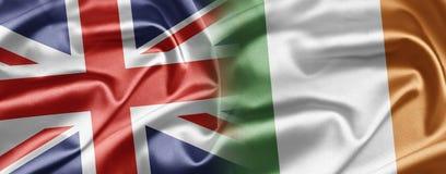 Le R-U et l'Irlande Image stock