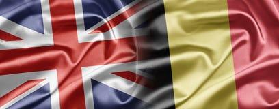 Le R-U et la Belgique Photos libres de droits