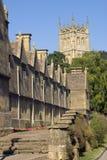Le R-U, Gloucestershire, Cotswolds, ébréchant Campden, hospices et église Photo stock