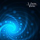 Le radial de lueur de vortex allume le fond Images libres de droits