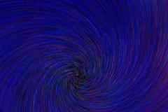 Le radial naturel d'explosion de remous de rotation-bourdonnement de lentille a brouillé les points vert-bleu rouges sur le fond  illustration stock