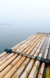 Le rafe en bambou Photos stock