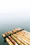 Le rafe en bambou Image stock