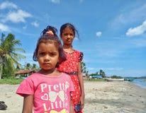 Le ragazze sono pazienti fotografie stock libere da diritti