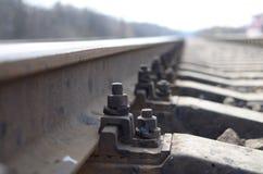 Le rail Image libre de droits