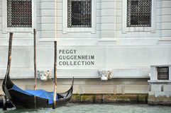 Le ramassage de Peggy Guggenheim Photographie stock