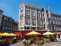 Le Randaxhe terrace, Liège Stock Image