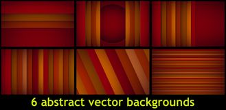 Le rectangle abstrait forme le fond Photos stock