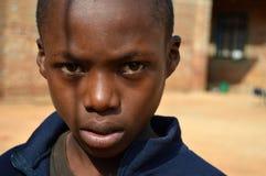 Le regard de l'Afrique - Pomerini - la Tanzanie - l'Afrique Images libres de droits