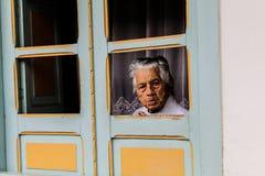 Le regard de la grand-mère Images stock