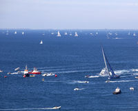 Le regatta 2010 de Barcolana Photo libre de droits