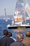 Le regatta 2010 de Barcolana Photos stock