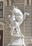 Le Reichkanzleitrakt, palais de Hofburg, Vienne, Autriche images stock