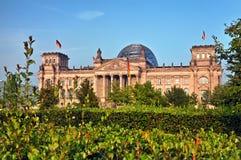 Le Reichstag à Berlin Photo stock