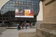Le Reiss-Engelhorn-musée à Mannheim Allemagne images libres de droits
