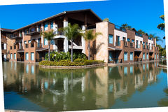 Le Relais Du Lac building A Royalty Free Stock Images