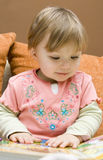 Le relevé de bébé Photographie stock libre de droits
