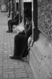 Le relevé de mendiant Image libre de droits