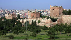 Le rempart d'Istanbul photos stock