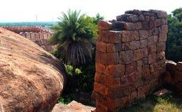 Le rempart de fort Image stock