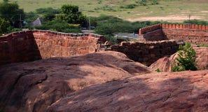 Le rempart de fort Photos libres de droits