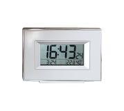 le remplissage digital de chiffres d'horloge obtiennent juste la DEL juste à haut inutile Image stock