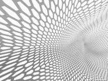 le rendu 3d a courbé le résumé sur le fond blanc, illustration illustration de vecteur