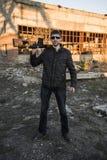Le représentant de la Mafia russe, jeune voyou Images libres de droits