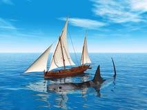 Le requin de Megalodon Photographie stock libre de droits