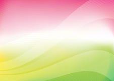 Le ressort colore le fond abstrait Photos libres de droits