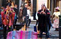Le ressort de chapeaux de défilé de Pâques colore New York City Image libre de droits